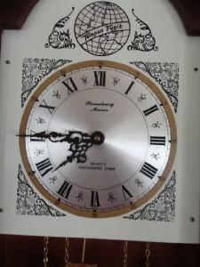 Strausbourg Manor Tempus Fugit Westminster Chime Pendulum