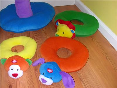 Lakeshore Plush Animal Rings Stacking Toy Giant | eBay