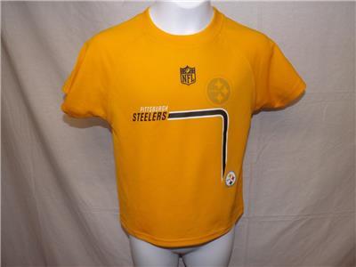 New-Mended Pittsburgh Steelers NFL Team Apparel Kids M Medium 5 6 ... 8130be340