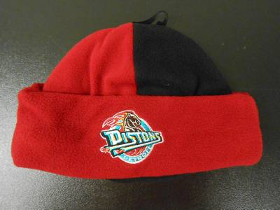5f2613ce615 NEW Detroit Pistons Infant Toddler ONE SIZE FITS ALL Thick Beanie Cap Hat.  Click images to enlarge