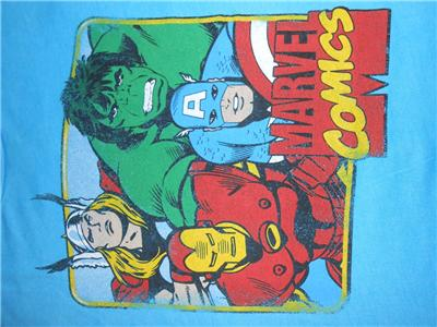 NEW AVENGERS MIGHTY THOR YOUTH SIZE 6//7 S SMALL SHIRT MARVEL 69Pi