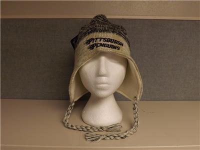 b860d556961 NEW Pittsburgh Penguins Adult Unisex Reebok Tassel Beanie Cap Hat