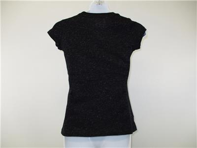 Black Shirt M 7//8 New Door County Wisconsin Youth Girls size Medium
