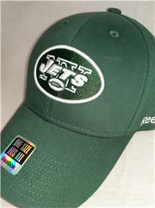 7808459de5e New York Jets Adult Mens Size OSFA Reebok Green Flexfit Cap Hat  20. Click  images to enlarge