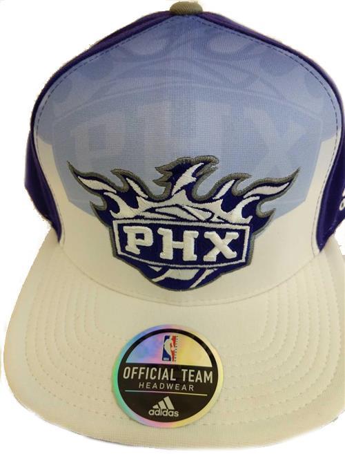 thumbnail 14 - New Phoenix Suns Mens Adidas Flatbrim Snapback Throwback Cap Hat