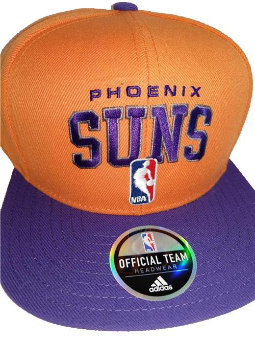 thumbnail 13 - New Phoenix Suns Mens Adidas Flatbrim Snapback Throwback Cap Hat