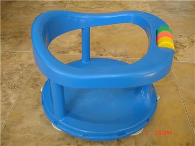 Safety 1st First Swivel Baby Bath Seat Ring Chair Tub