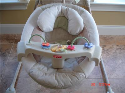 fisher price baby papasan cradle swing nature 39 s touch. Black Bedroom Furniture Sets. Home Design Ideas