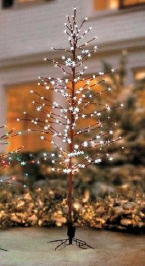 SALE Outdoor Lighted Pre Lit WHITE LED LIGHT SHOW ...