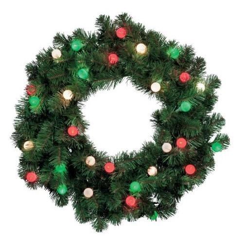 CORDLESS Outdoor Pre Lit WREATH, SWAG, GARLAND CHRISTMAS