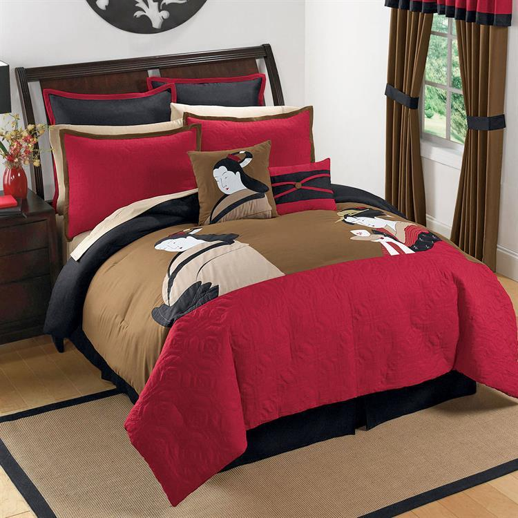 Asian Style Bedspreads 121