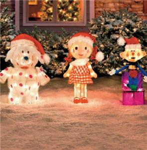 Rudolph The Red Nosed Reindeer Amp Friends Tinsel Outdoor