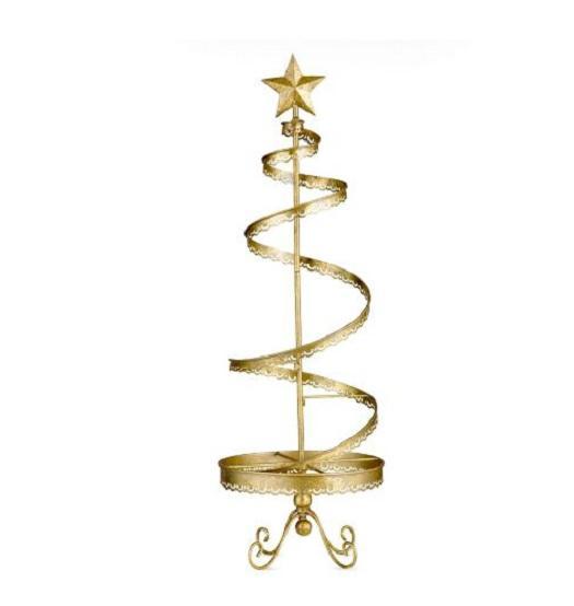 "36"" METAL CHRISTMAS ORNAMENT DISPLAY TREE Indoor Holiday ..."