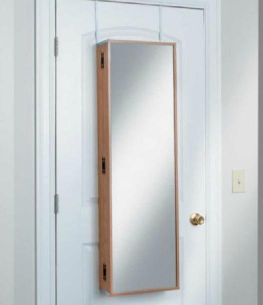 48 over the door vanity beauty cosmetic armoire organizer cabinet 3 colors ebay. Black Bedroom Furniture Sets. Home Design Ideas