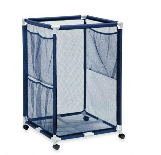 Durable Portable Rolling Mesh Pvc Outdoor Pool Toy Storage