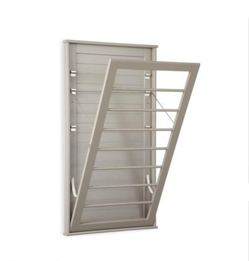 Laundry Room Space Saving Wall Mount Clothes Clothing