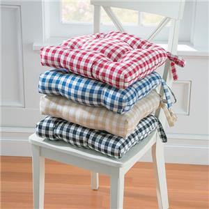 15 Quot Sq Country Gingham Buffalo Checks Dining Chair Pads