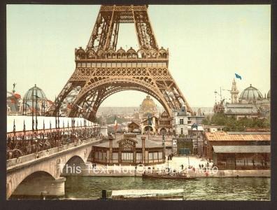 The Eiffel Tower Paris XWF FREE Shipping A3 A4