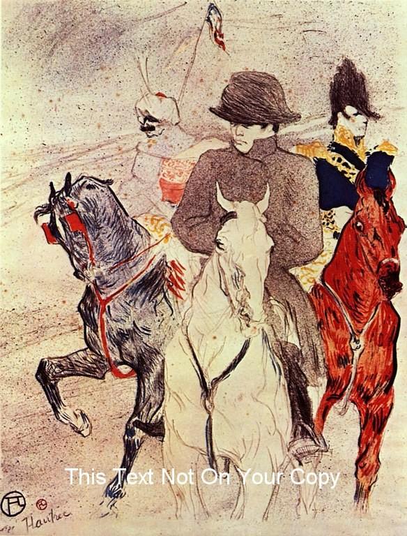 Napoleon Bonaparte NEW Poster Horse Repro