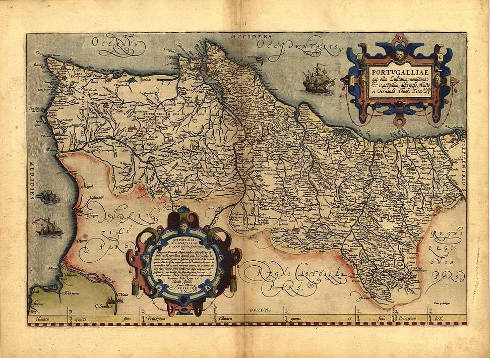 Large 18x13 Inch Abraham Ortelius Gelriae Cliviae Gelderland Brabant Antique Map