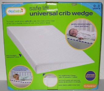 New Safelift Universal Foldable Crib Wedge Baby Infant