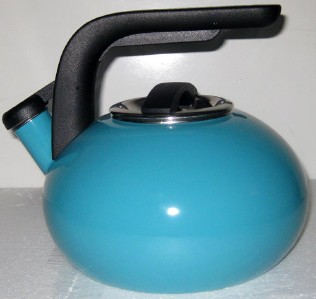 Kitchenaid 2 Quart Whistling Teakettle Porcelain Turquoise