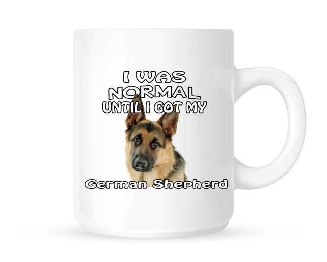 Fun Cute Pet Tea//Coffee Mug I Was Normal Until I Got My Golden Retriever