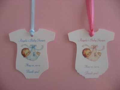 You Are Getting A Great Set Of Baby Shower Favor Tags!