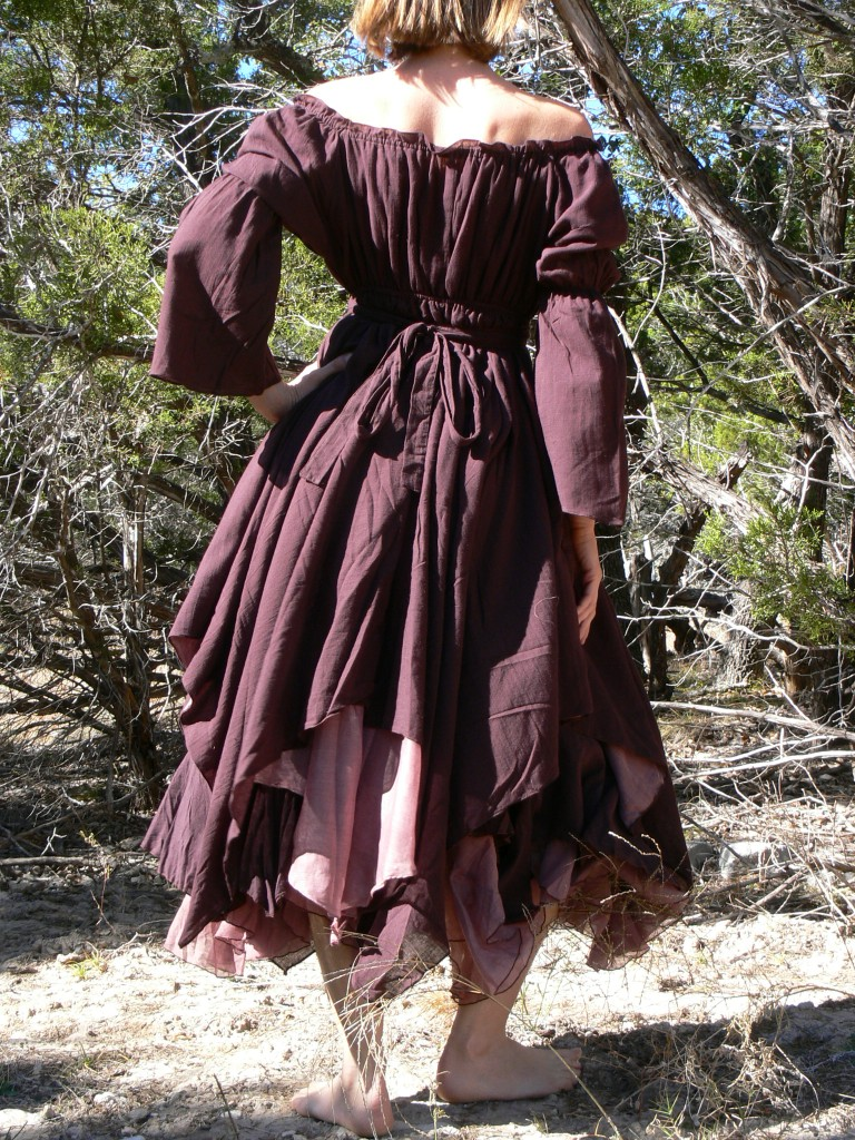 Xs S M Gypsy Dress Layered With Sleeves Pirate Wench