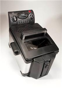 used t fal professional home electric deep fryer