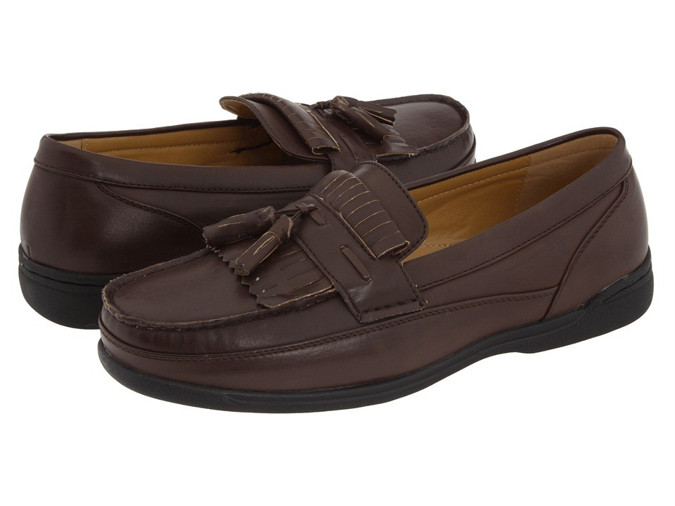 Mens Deer Stags Stout Faux Leather Loafer See Sizes