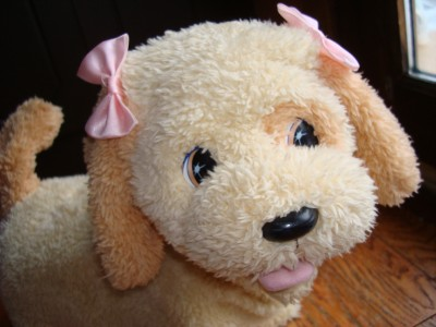 FISHER PRICE PUPPY GROW & KNOWS YOUR NAME GOLDEN RETRIEVER DOG LOOK
