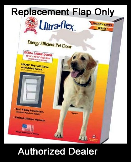 Replacement Flap For Ideal Quot Ultra Flex Quot Dog Pet Door Xl Ebay