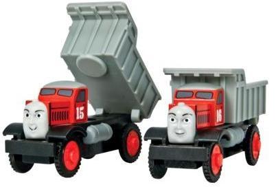 Max And Monty Thomas Friends The Wooden Train Dump Trucks K Usa