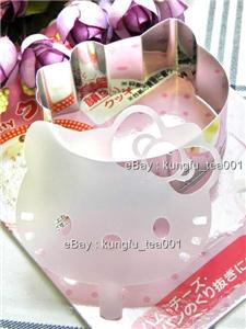 Sanrio Hello Kitty Stainless Food Cheese Cookie Cake Cutter +Stencil