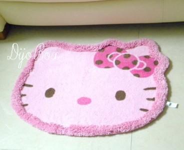 Sanrio Hello Kitty Die Cut Head Dining Room Bathroom ...