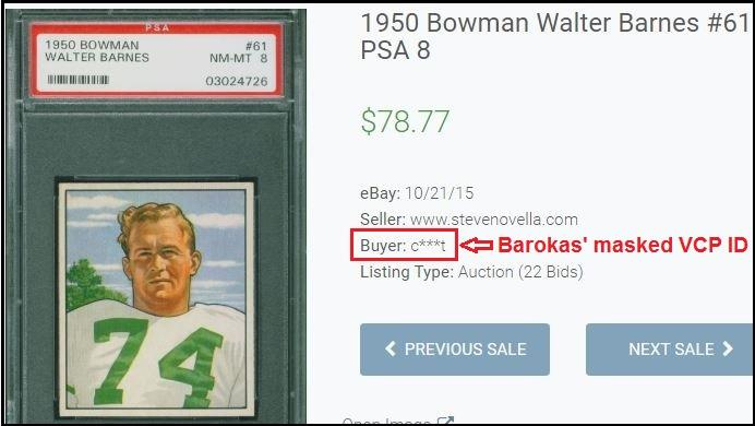 Charlie Barokas Mercer Island Wa Ebay Manontherock Is A Card Trimmer Psa Graded Blowout Cards Forums