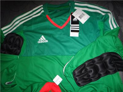 592d572bb115a ADIDAS MEXICO COLORS SOCCER ADIZERO GOOL KEEPER L S SHIRT MEN NWT  65.00