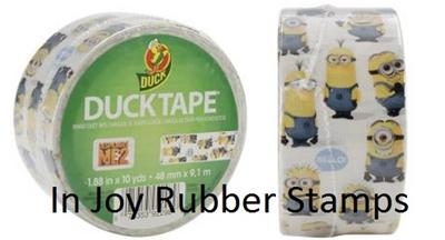 "Shurtech Licensed DESPICABLE ME Minions Duck Tape 1.88/"" Wide 10 Yard Roll"