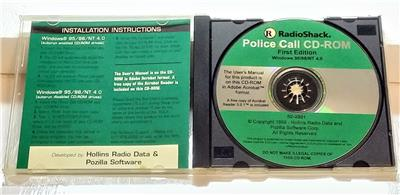 1ST EDITION 1999 RADIO SHACK POLICE CALL NATIONAL SCANNER