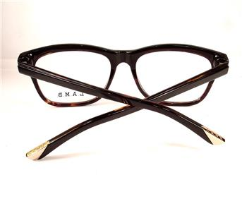 7104286b81 L.A.M.B. LA016 Gwen Stefani Black Tortoise New Tura Women Designer 53-16-135