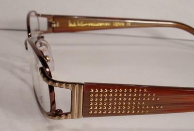 Nicole Miller Vignette Gold Eyeglass WOMEN Eyewear