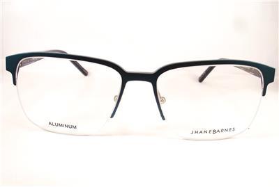 9990fb5eef87 Jhane Barnes Area ST STEEL Men Eyeglasses 56-17-145 Semi Rimless ...