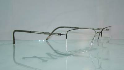 ad758e4ffde Silhouette 5279 40 6052 BROWN TNG NYLOR Titan Half Rim Frames Eyeglasses  Size 56