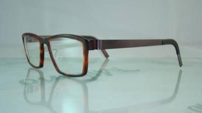 d9996b3e697 LINDBERG 1020 AF61 Tortoise   Brown Acetanium Glasses Eyeglasses Frames  Size 54