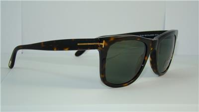 d5ceae9a8c Tom Ford Leo TF 336 56R Dark Havana Polarized Sunglasses Sonnenbrille Size  52