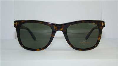 342feb5eed433 Tom Ford Leo TF 336 56R Dark Havana Polarized Sunglasses Sonnenbrille Size  52