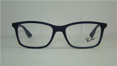 34e83eb276 Ray Ban RB 7047 5450 Matt Blue + Orig Case Frames Glasses Eyeglasses Size 54