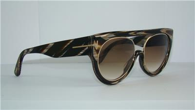 63F Ford 360 Brown Alana BLACK FT Tom Gradient Sunglasses HORN wvfT6q6