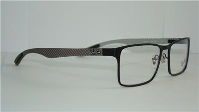 c54b9c310ec2c Ray Ban TECH RB 8415 2503 CARBON FIBRE BLACK Glasses Eyeglasses Frames Size  53